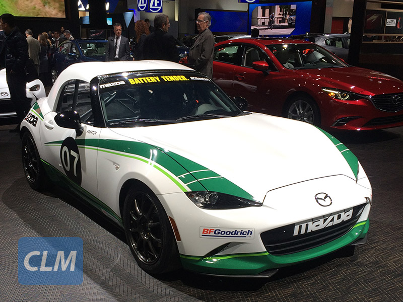 Mazda MX-5 Global Cup Competition Hardtop At The 2017